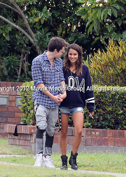 is april off home and away dating reece mastin