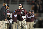 Mississippi State Coach Dan Mullen vs. Ole Miss at Vaught- Hemingway Stadium in Oxford, Miss. on Saturday, November 24, 2012. Ole Miss won 41-24.