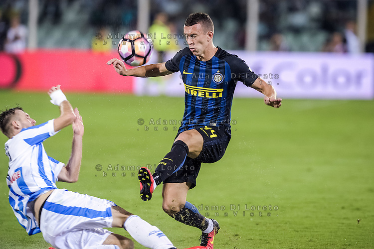 Perisic Ivan (Inter) during the Italian Serie A football match Pescara vs SSC Inter on September 11, 2016, in Pescara, Italy. Photo by Adamo DI LORETO