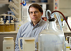 Mar. 29, 2011; Professor David Lodge in his lab in Galvin Hall at the University of Notre Dame...Photo by Matt Cashore/University of Notre Dame