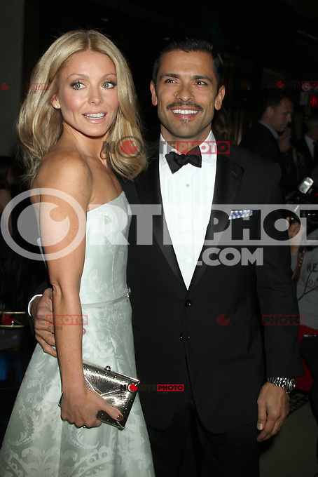 NEW YORK, NY - NOVEMBER 27: Kelly Ripa and Mark Consuelos at the 2012 Unicef SnowFlake Ball at Cipriani 42nd Street on November 27, 2012 in New York City. Credit: RW/MediaPunch Inc. /NortePhoto