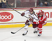Patrick Brown (BC - 23), Ahti Oksanen (BU - 2) - The Boston College Eagles defeated the visiting Boston University Terriers 6-4 (EN) on Friday, January 17, 2014, at Kelley Rink in Conte Forum in Chestnut Hill, Massachusetts.