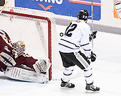 Parker Milner (BC - 35), Brandon Tanev (PC - 22) - The Providence College Friars tied the visiting Boston College Eagles 3-3 on Friday, December 7, 2012, at Schneider Arena in Providence, Rhode Island.