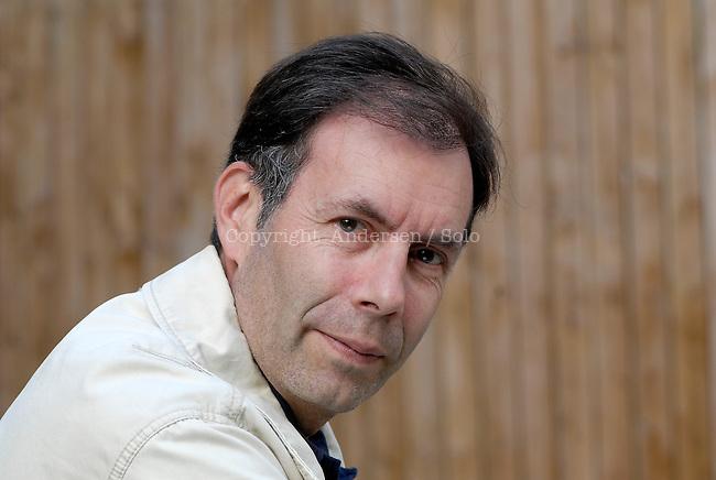 Francois Vallejo, French writer in 2010.