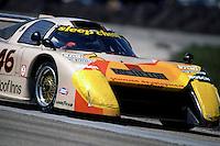 SEBRING, FL - MARCH 20: Bobby Rahal drives the Michelob March 82G 1/Chevrolet entered by Garretson Development in the 12 Hours of Sebring IMSA Camel GT race at Sebring International Raceway near Sebring, Florida, on March 20, 1982.
