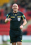 St Johnstone v Inverness Caledonian Thistle.....25.04.11.Ref Bobby Madden.Picture by Graeme Hart..Copyright Perthshire Picture Agency.Tel: 01738 623350  Mobile: 07990 594431