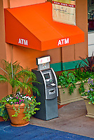 Atm, Bank, Automated Teller, Bridge, Promenade, Howard Hughes Center, Los Angeles, CA,