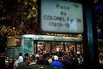 [English]  Nearly 80 unaccompanied under-aged migrants arrive in Paris every month, looking for a place to stay and a better life. Most of them come from Afghanistan. Every night at the &quot;Colonel Fabien&quot; square, they try to get to the bus taking them to in foster care for homeless people. Unfortunately, they are rejected because they cannot be mixed with adults, as a legal point of view.<br /> <br /> [Francais]  Les exiles afghans se rassemblent par dizaines tous les soirs place Colonel Fabien (Xeme). Un service de bus nomme Atlas, gere par des associations et finance par l'etat, emmene les plus chanceux vers le centre d'hebergement d'urgence de nuit Sonacotra de la &laquo;&nbsp;Boulangerie&nbsp;&raquo; (XVIIIeme)..La selection est difficile. Legalement tenus de les dissocier des majeurs dans toute filiere d'accueil, le personnel du bus refuse les mineurs. Le dispositif d'etat qui leur est dedie par ailleurs est sous-dimensionne et peu de places se liberent chaque jour. De nombreux mineurs sont donc contraints a trouver un abri de fortune pour passer la nuit.