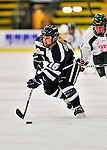 29 January 2012: University of New Hampshire Wildcat forward Nicole Gifford, a Sophomore from Ennismore, Ontario, in action against the University of Vermont Catamounts at Gutterson Fieldhouse in Burlington, Vermont. The Lady Cats edged out the Lady Wildcats 2-1 to split their Hockey East twin-game weekend series. Mandatory Credit: Ed Wolfstein Photo