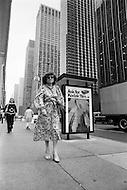 August 31st, 1977, Manhattan, New York City. Regine Davis around the time of the opening of her restaurant Le Reginette 69 East 59th Street.