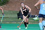 18 September 2015: Louisville's Erin McCrudden. The University of North Carolina Tar Heels hosted the University of Louisville Cardinals at Francis E. Henry Stadium in Chapel Hill, North Carolina in a 2015 NCAA Division I Field Hockey match. UNC won the game 5-0.