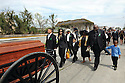 "Mourners follow hearse in funeral for Darnell Mitchell ""Homeboy"" Stewart, 2014"