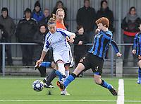 2012-01-21 Dames Club Brugge - Rassing Harelbeke