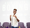 Frank Warren Boxing Promoter and BT Sport Press Conference at BT Tower London Great Britain <br /> <br /> 23rd January 2017 <br /> <br /> Frank Warren introduces Boxers who will be taking part in tournaments during 2017. <br /> <br />  Nicola Adams<br /> who is signed to fight on 8th April 2017 <br /> at Manchester Arena <br /> <br /> <br /> Photograph by Elliott Franks <br /> Image licensed to Elliott Franks Photography Services