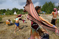 18th Rainbow Family gathering, La Verendry park, Quebec