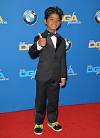 Sunny Pawar at the 69th Annual Directors Guild of America Awards (DGA Awards) at the Beverly Hilton Hotel, Beverly Hills, USA 4th February  2017<br /> Picture: Paul Smith/Featureflash/SilverHub 0208 004 5359 sales@silverhubmedia.com