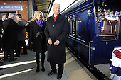 Wilmington, DE - January 17, 2009 -- United States Vice President-elect Joe Biden and his wife Jill prepare to join President-elect Barack Obama on the train in Wilmington, Delaware, on the Whistle Stop Train Tour, on Saturday, January 17, 2009. The ceremonial trip will carry President-elect Obama, Vice President-elect Biden and their families to Washington for their inaugurations with additional events in Philadelphia, Wilmington and Baltimore. Obama will be sworn in as the 44th President of the United States on January 20, 2009. .Credit: Kevin Dietsch - Pool via CNP