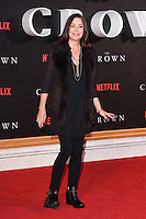 LONDON, UK. November 1, 2016: Amanda Donohoe at the World Premiere of the Netflix series &quot;The Crown&quot; at the Odeon Leicester Square, London.<br /> Picture: Steve Vas/Featureflash/SilverHub 0208 004 5359/ 07711 972644 Editors@silverhubmedia.com