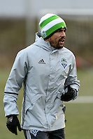 Toronto, ON, Canada - Thursday Dec. 08, 2016: Herculez Gomez during training prior to MLS Cup at the Kia Training Grounds.