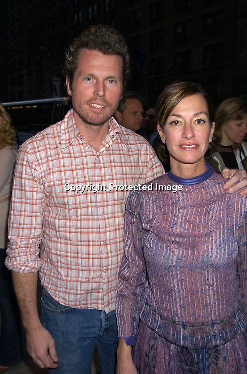 """Bill Powers and Cynthia Rowley ..at the New York Premiere of Showtime's """"Reefer Madness""""..on April 10,  2005 at The DGA Theatre. Broadway Cares/Equity Fights Aids was benefitting from the Premiere  ..Photo by Robin Platzer, Twin Images"""