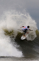 Heitor Alves competes in Round 3 of the 2011 Quiksilver Pro New York in Long Beach, NY.