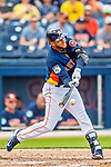 1 March 2017: Houston Astros infielder Yuli Gurriel in Spring Training action against the Miami Marlins at the Ballpark of the Palm Beaches in West Palm Beach, Florida. The Marlins defeated the Astros 9-5 in Grapefruit League play. Mandatory Credit: Ed Wolfstein Photo *** RAW (NEF) Image File Available ***