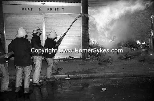 Toxteth Liverpool riots. July 1981