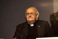 Roma 26 Ottobre 2010.Presentato il XX  Dossier Statistico  Immigrazione..monsignor Giancarlo Perego, direttore della Fondazione Migrantes.