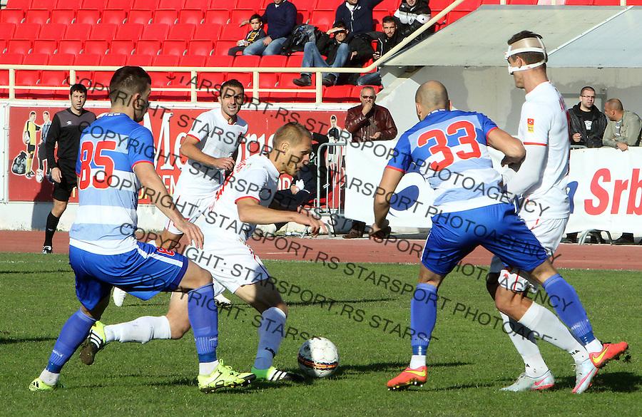 Fudbal Super liga season 2015-2016<br /> Radnicki (Nis) v Borac<br /> Radnicki Sasa Marjanovic<br /> Nis, 1.11.2015.<br /> foto: Sasa Djordjevic/Starsportphoto &copy;