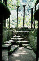 Xilitla, a small village in the Sierra Gorda of Mexico where surrealist artist and British blue blood Edward James chose to settle and construct his surrealist sculptures in its jungles.