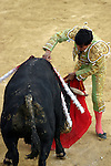 25 March 2005: Matador Rafael Ortega. The Corrida de Toros, or bullfights, took place at the Plaza Silverio Perez in Texcoco, Mexico on Friday, March 25th..