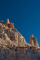 731950031 panaca sandstone hoodoos at sunrise from millers point in cathedral gorge state park nevada united states