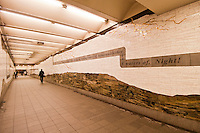 Mosaic, Under Bryant Park, 2002,  by Samm Kunce, Subway Passageway42nd Street,Byrant Park, Fifth Avenue,Manhattan, New York City, New York, USA