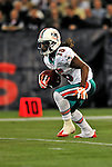 7 December 2008: Miami Dolphins' wide receiver Davone Bess returns a kick during the first regular season NFL game ever played in Canada. The Dolphins defeated the Buffalo Bills 16-3 at the Rogers Centre in Toronto, Ontario. ..Mandatory Photo Credit: Ed Wolfstein Photo