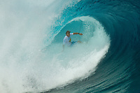 Anthony Walsh (AUS) Monday August 16, 2010. The  Air Tahiti Nui Von Zipper Trials  were held today at Teahupo'o  in the south west corner of Tahiti, French Polynesia.  The surf was in the 5-'6' range and the highlight of the day was a perfect 10 point ride by Australian Anthony Walsh. Photo: joliphotos.com