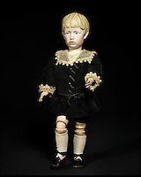 BNPS.co.uk (01202 558833)<br /> Pic: Bonhams/BNPS<br /> <br /> ***Please Use Full Byline***<br /> <br /> A very rare k&auml;mmer &amp; reinhardt 102 bisque head character doll<br /> &pound;15,000 - 25,000<br /> <br /> A creepy collection of almost 100 'lifelike' dolls modelled on children has emerged for sale with a whopping half a million pounds price tag. <br /> <br /> The eerie-looking toys were made in Germany in the early 20th century as dollmakers strived to produce dolls with realistic human features.<br /> <br /> The collection of 92 dolls, which includes some of the rarest ever made, has been pieced together by a European enthusiast over the past 30 years.<br /> <br /> It is expected to fetch upwards of &pound;500,000 when it goes under the hammer at London auction house Bonhams tomorrow (Weds).