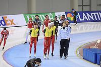 Oval, 12-11-2013, Essent ISU World Cup, training, ©foto Martin de Jong