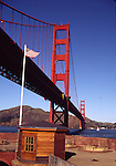 Fort Point and Golden Gate Bridge