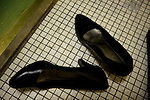 Arhus, Denmark, May, 2010. Aisha shoes.