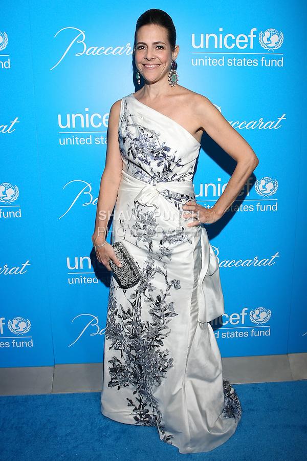 Alexandra Lebenthal arrives at the UNICEF Snowflake Ball, Presented by Baccarat, at Cipriani 42nd Street, November 30, 2010.
