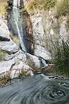 Tucson, Arizona; Ventana Canyon Waterfall in the early morning