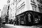 Shops in central Prague, Czech Republic