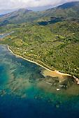 Littoral de la tribu de Amoa, Touho, côte Est Nouvelle-Calédonie