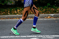 A runner attends the annual TCS New York City Marathon in Central Park New York 01.11.2015. Mary Keitany wins second consecutive NYC Marathon, Stanley Biwott is men's winner. Ken Betancur/VIEWpress.