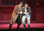 2007 - DON GIOVANNI - Wayne Tigges as Giovanni and and James Martin Schaefer as Masetto share a light moment in Opera Pacific's production of Don Giovanni.