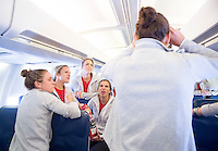 Vancouver, Canada - July 1, 2015:  The USWNT traveled to Vancouver for the FIFA Women's World Cup final at BC Place.