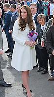 Kate, Duchess of Cambridge visits Downton Abbey Set, Ealing Studios - London
