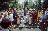 Villagio Italia toga dress up party - Haines Falls NY 1970