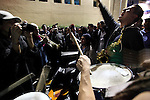 Thousands of students stage a besiege around the Televisa network facilities in Mexico City's Chapultepec neighborhood, July26, 2012. The students claim for  an equitative information on the presidential election process, instead of supporting to one of the candidates as they do for now. Photo by Heriberto Rodriguez