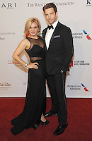 NEW YORK, NY - NOVEMBER 02:   Orfeh Karl and Andy Karl attends 15th Annual Elton John AIDS Foundation An Enduring Vision Benefit at Cipriani Wall Street on November 2, 2016 in New York City.Photo by John Palmer/ MediaPunch